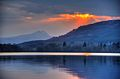 Sunset over the Lake of Menteith - Ben Lomond in Background - panoramio.jpg