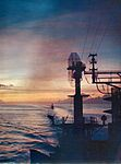 Sunset seen from USS Constellation (CVA-64) c1964.jpg