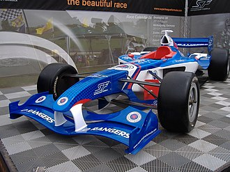 Rangers F.C. (Superleague Formula team) - The Rangers car out on display (2008)