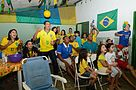 Supporters of the DF accompanying game between Brazil and Mexico 09.jpg