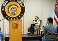 Supreme Court Justice Ruth Bader Ginsburg Visits Mililani High School Oahu Hawaii (51081564682).jpg