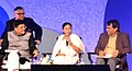 Suresh Prabhakar Prabhu, the Chief Minister of West Bengal, Ms. Mamata Banerjee and the Minister of State (Independent Charge) for Power, Coal and New and Renewable Energy.jpg