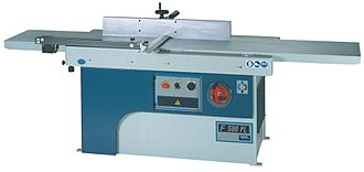 Jointer - Italian surface planer or jointer-planer with a pair of large tables.