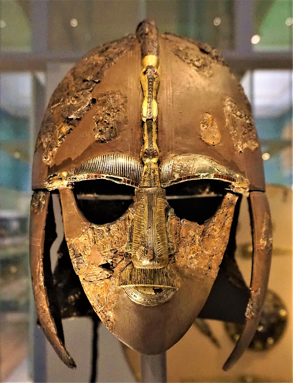 Sutton Hoo Ship Burial - Helmet