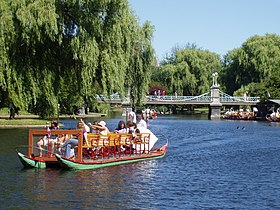 Swan Boat, Boston Public Garden, Boston, Massachusetts.JPG