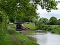 Swanley Lock No 1 near Burland, Cheshire - geograph.org.uk - 1706766.jpg