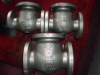 Check valve - Image: Swing Check valves