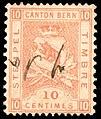 Switzerland Bern 1881 revenue 10c - 24B.jpg