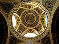 Széchenyi thermal bath, central hall dome, Helios with quadriga, 2013 Budapest (367) (13227577465).jpg