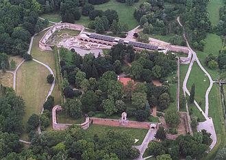 Szigetvár - Aerial Photography: Szigetvár - Castle