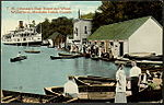T.M. Johnston's Boathouse and Wharf. Windermere, Muskoka Lakes, Canada.jpg