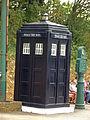 TARDIS - Police Box - Crich Tramway Village - National Tramway Museum - Crich (15372537305).jpg
