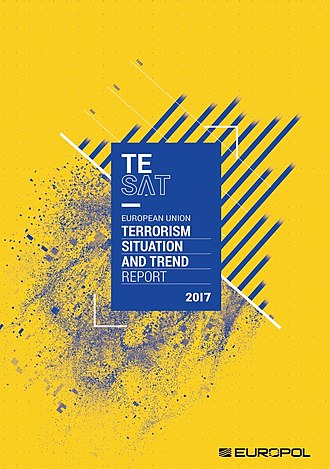 Europol - Cover of the Terrorism Situation and Trend Report (TE-SAT) 2017