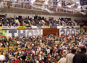 Penn State IFC/Panhellenic Dance Marathon - THON 2005, in Penn State's Recreation Building