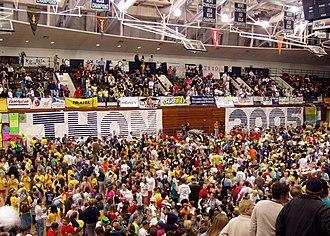 Penn State IFC/Panhellenic Dance Marathon - THON 2005, in Penn State's Recreation Building