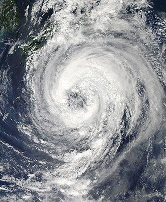 Tropical Storm Talas (2011) - Image: Talas 2011 09 01