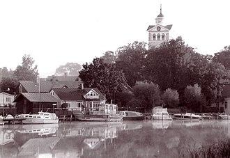 Ekenäs, Finland - Image: Tammisaari etelasta