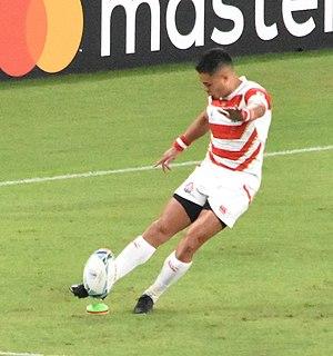 Yu Tamura Japanese rugby union footballer