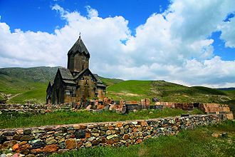 Vayots Dzor Province - Tanahat Monastery, founded in the 8th century, rebuilt during the 13th century
