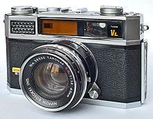 A single-lens reflex camera  Camera