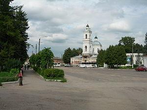 Tarusa - Tarusa central square