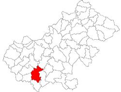 Vị trí của Tasnad