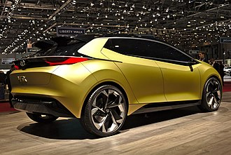 Tata Motors Cars - Tata 45X Concept at Geneva Motor show
