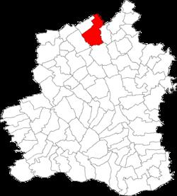 Vị trí của Tatarastii de Jos