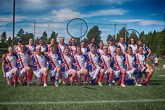 United Kingdom national quidditch team - Team UK at the IQA European Games, Oslo, July 2017