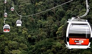 Teleférico de Caracas - Caracas Aerial Tramway: Warairarepano
