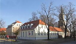Teltow4 Am Marktplatz und Kirche St Andreas