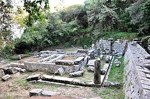 Temple at Kardaki in Corfu
