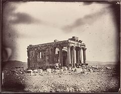 Temple of Baalshamin, Louis Vignes, 1864. Albumen print. 8.8 x 11.4 in. (22.5 x 29 cm). The Getty Research Institute, 2015.R.15.jpg