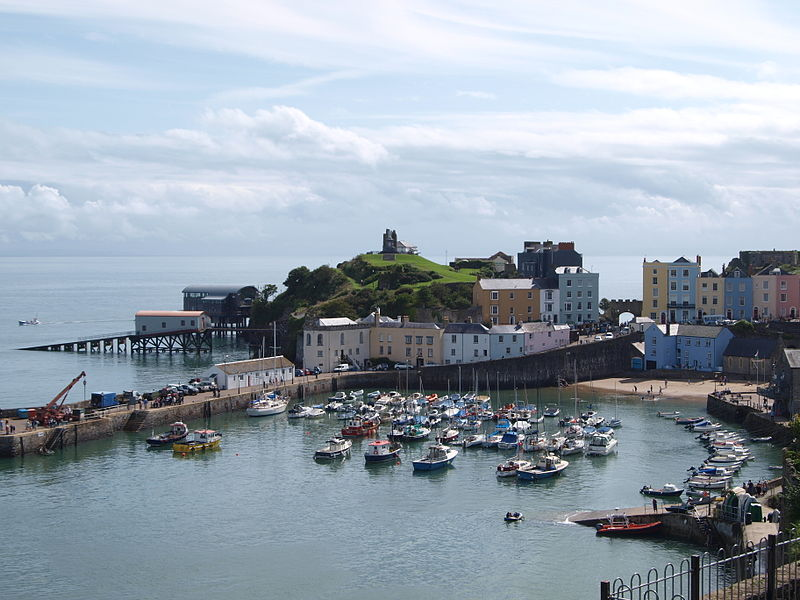 File:Tenby Harbour South Wales.jpg