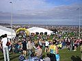 Tented Village in the Veladrome, Great North Run - geograph.org.uk - 769753.jpg