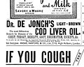 Text advertisment for Dr. De Jongh's cod liver oil Wellcome L0016974.jpg