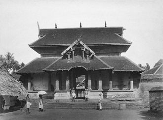 Zamorin of Calicut - Thali Temple (1951), Kozhikode