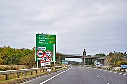 The A17 - Kirkby la Thorpe - geograph.org.uk - 1548378.jpg
