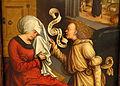 The Annunciation to Saint Anne by Bernhard Strigel, detail, c. 1505-1510 AD, oil on wood - Museo Nacional Centro de Arte Reina Sofía - DSC08588.JPG