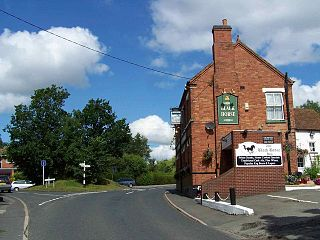 Edingale village in the United Kingdom