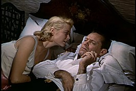 Grace Kelly en William HOlden in The Bridges at Toko-Ri