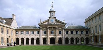 University of Cambridge -  Emmanuel College Chapel