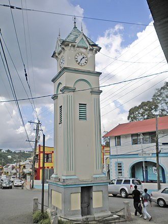 Claremont, Jamaica - The Clock at Claremont