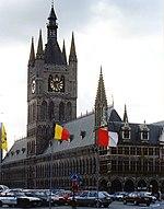 La Ŝtofo-Halo, Ipro, Belgium.jpg
