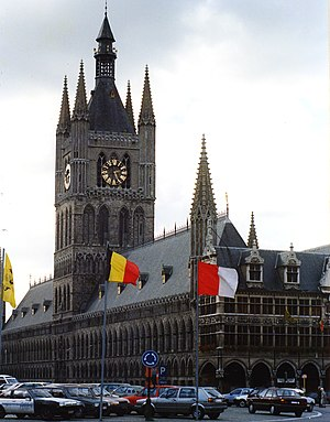 Belfries of Belgium and France - Cloth Hall, Ypres