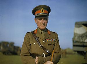 Bernard Paget - Image: The Commander in Chief Home Forces, General Sir Bernard Paget, October 1942 TR209