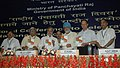 """The Deputy Chairman, Planning Commission, Shri Montek Singh Ahluwalia releasing a book titled """"Panchayats in India""""-Measuring Devolution by States, at the National Panchayati Raj Diwas, in New Delhi on April 24, 2010.jpg"""