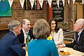 The Duke and Duchess Cambridge at Commonwealth Big Lunch on 22 March 2018 - 117.jpg