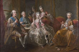 Maria Teresa Felicitas d'Este - Image: The Family of the Duke of Penthièvre