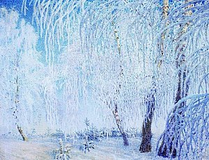 Igor Grabar - The Frost, end of 1905.